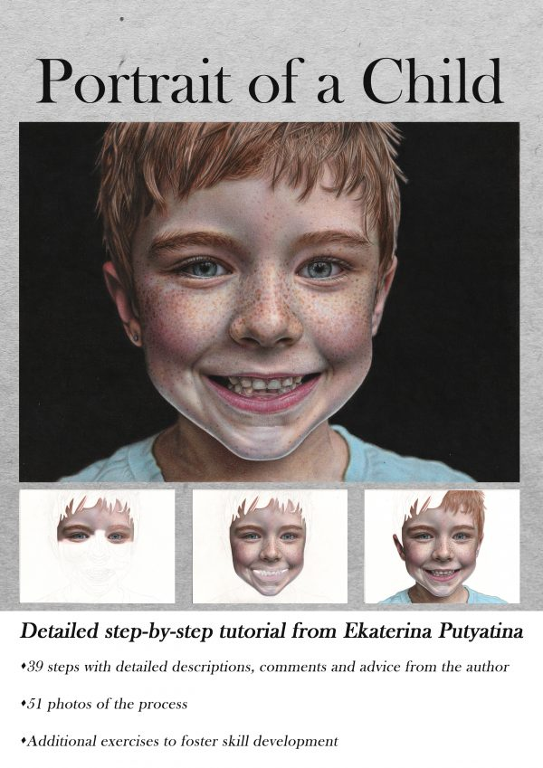Portrait of a Child drawing tutorial