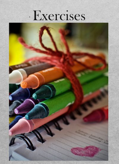 Colored pencils exersizes tutorial cover